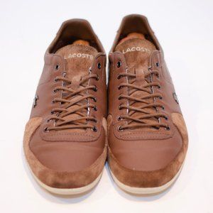 Lacoste Leather & Suede Men's Light Brown Sneakers